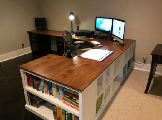 Best 2 computer desk #diy #gaming #corner #dekstops # forsmallspaces #workstations #creative #hidden #computer #desk