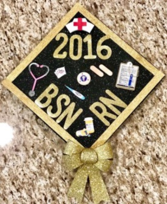 Popular white cap and gown #diy #craft #graduationcap #graduation #highschool #collage #funny #nursing #formen #forgirl