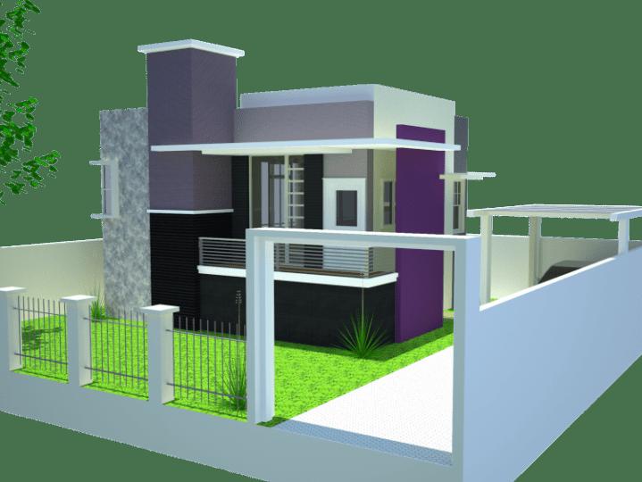 kombinasi warna cat rumah minimalis