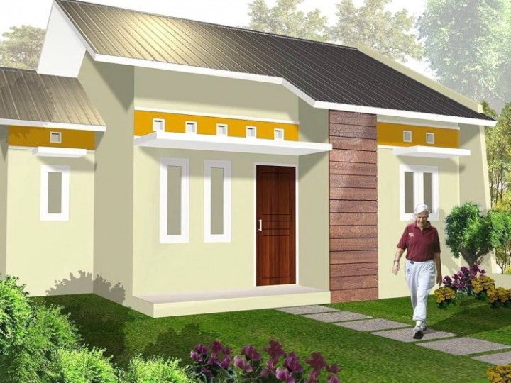warna cat rumah sederhana