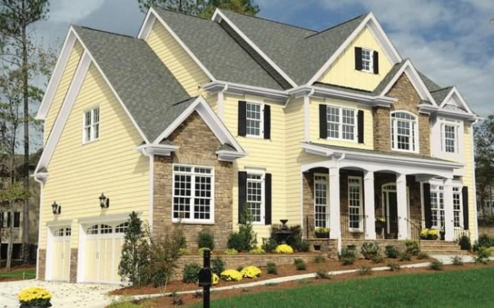 kombinasi warna cat rumah dinding luar rumah