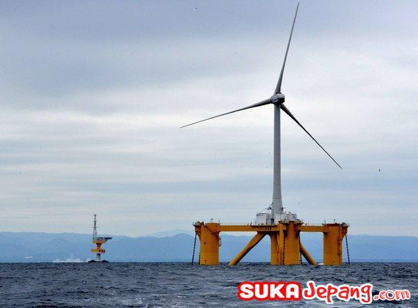 kincir angin fukushima