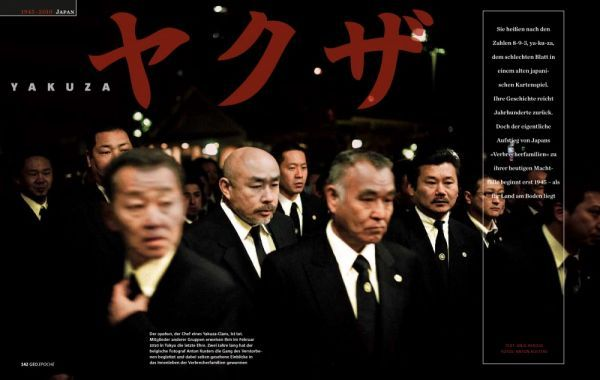 Foto Kehidupan Mafia Yakuza di Jepang