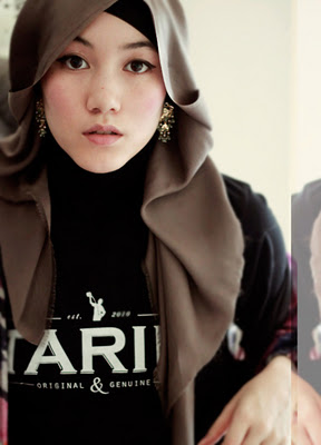 Kisah Hana Tajima, Mualaf Cantik Blasteran Jepang Inggris 3