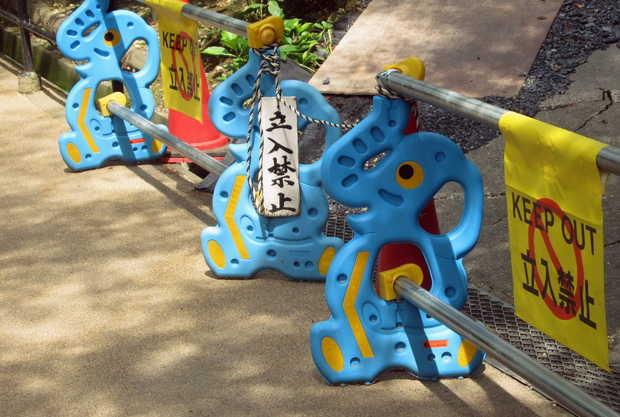 Imutnya Tanda Peringatan Zona Konstruksi Di Jepang 6