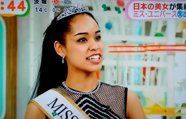 Tidak Mirip Orang Jepang, Miss Universe Jepang Jadi Kontroversi