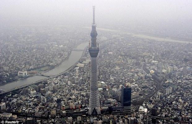 Tokyo Sky Tree, Tower Pemancar Tertinggi Didunia Yang Anti Gempa Bumi