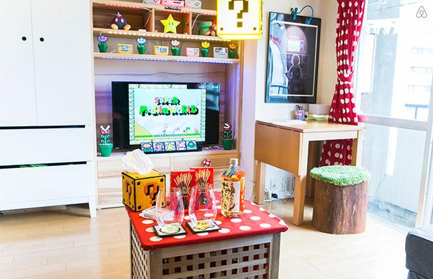 Apartment Super Mario di