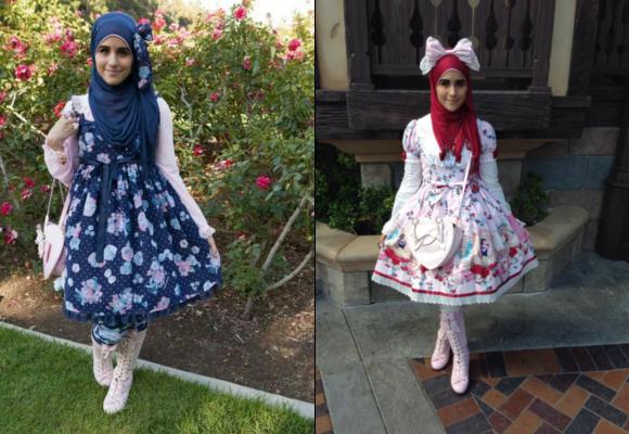 Muslim Lolita Fashion di Jepang, Perpaduan
