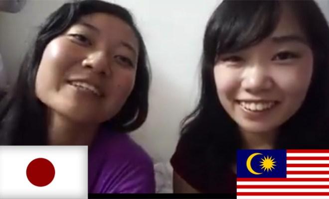 Dalam 5 Bulan, 2 Gadis Jepang Ini Kuasai Bahasa Melayu Hanya