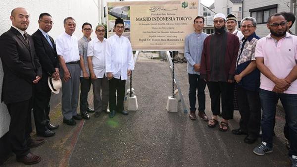 Alhamdulillah, Masjid Indonesia di Tokyo Jepang Mulai Dibangun