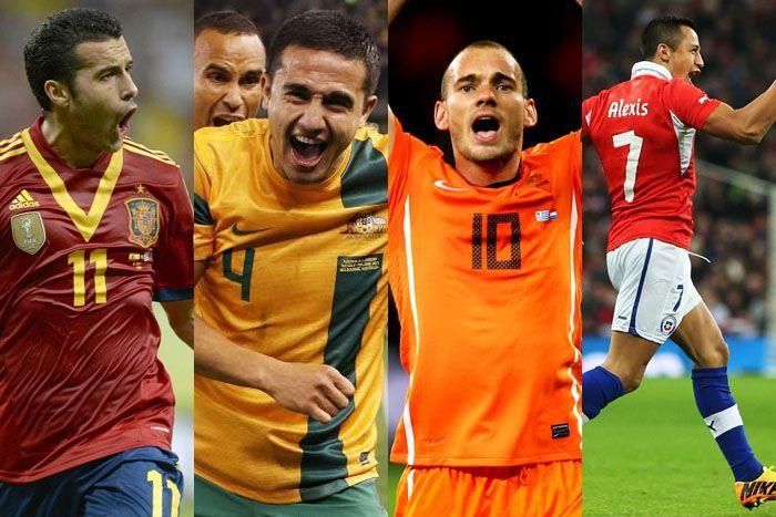Kedudukan Pasukan Dalam Kumpulan B Piala Dunia 2014