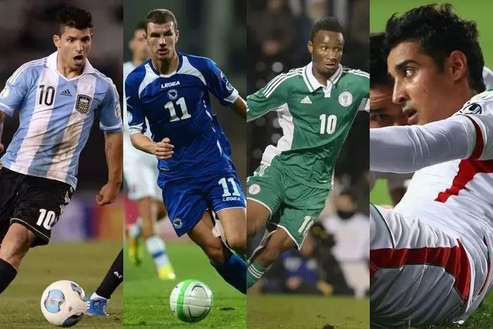 Kedudukan Pasukan Dalam Kumpulan F Piala Dunia 2014