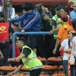 Gambar Pergaduhan Ketika Perlawanan Malaysia vs Vietnam