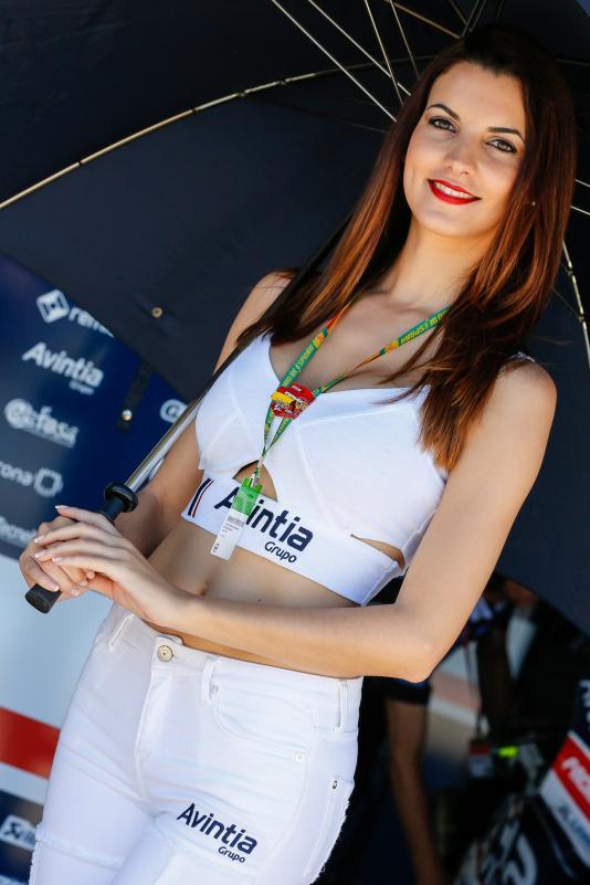 Gambar Gadis Litar Motor GP Sepanyol 2016 2