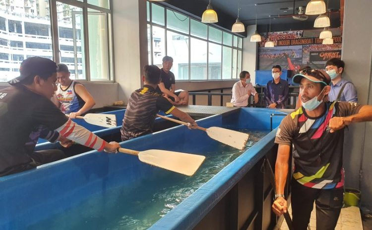 State rowers take to indoor pool to beef up themselves