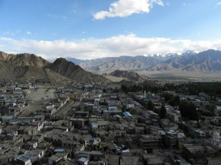 Shot from the Leh Palace