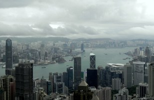 Hong Kong and the Clouds