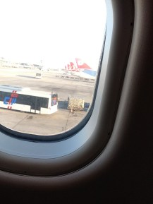 Row of Turkish Airlines Planes