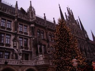 Munich- 2006 Christmas Tree, Town Hall