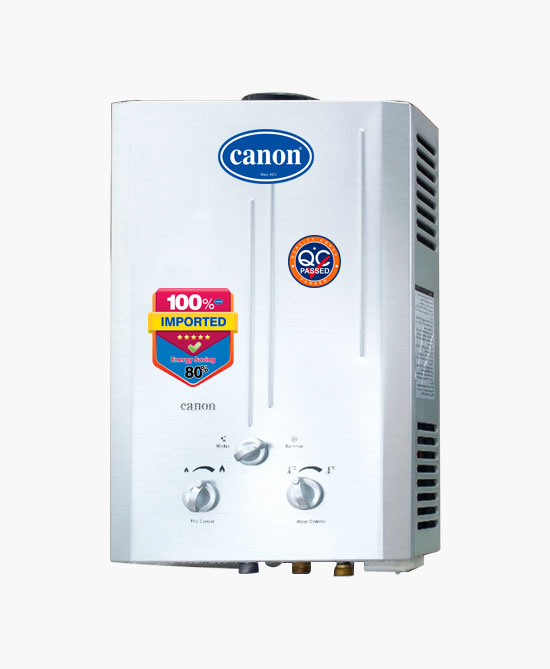 Canon 6 Liters Instant Gas Geyser 601-P