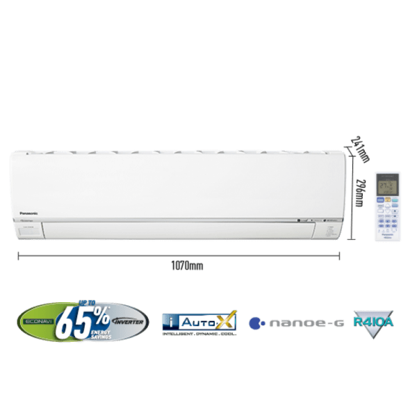 PANASONIC 2.0 TON INVERTER AIR CONDITIONER 24-SKH (COOL ONLY) 1