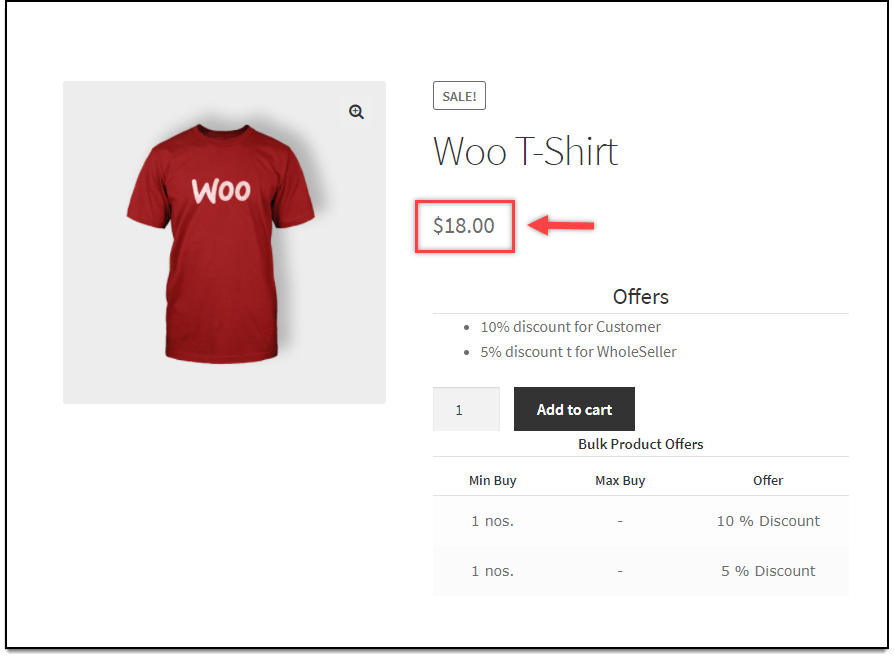 How to hide striked out price on Product and Shop page on woocommerce?