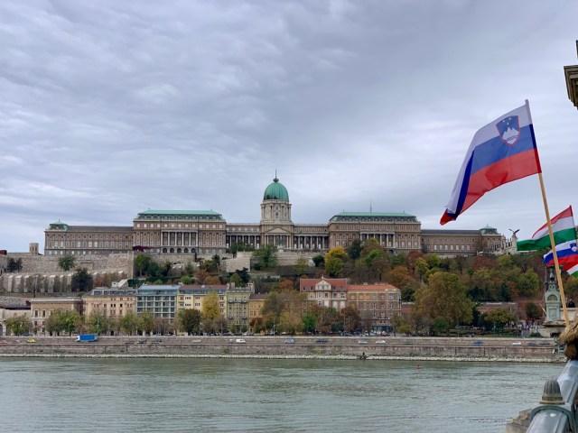 Замок Буда днем (Buda Castle)