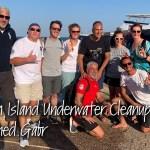 🇪🇬 Египет: 🤿 Подводная уборка мусора возле острова Мегавиш (Хургада) с Ахмед Габр