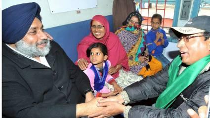 5th Pilgrim Train From Malerkotla to Ajmer Sharif Dargah - Sukhbir Singh Badal (3)