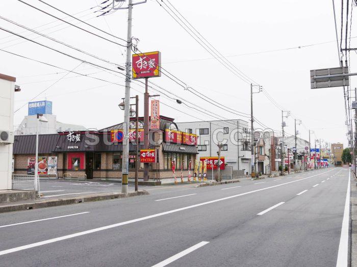 すき家水戸末広町店建物