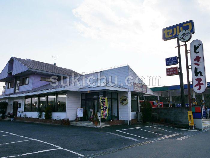 札幌ラーメンどさん子水戸50号インター店建物・入口前
