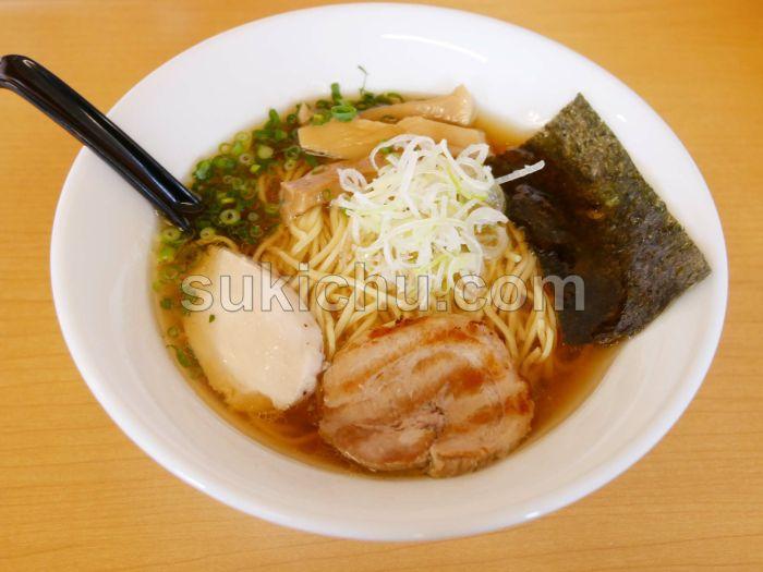 麺屋雷鶏's水戸あごそば醤油