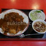純中国料理金龍館水戸市カツカレー