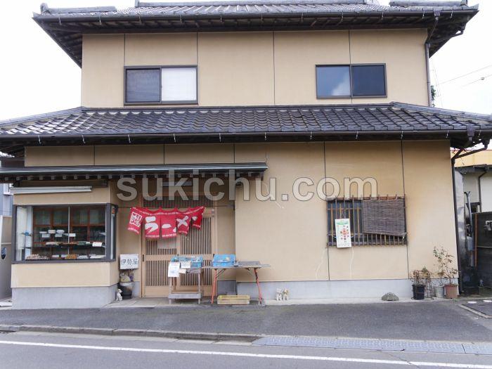 伊勢屋菓子店水戸建物