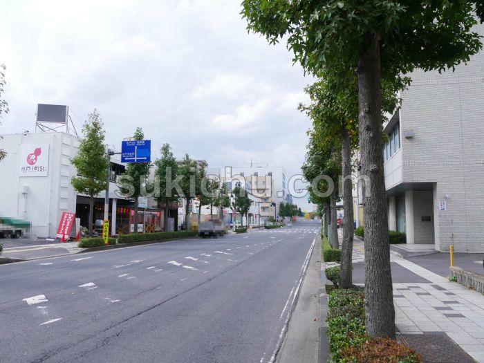 水戸小町ストリート周辺