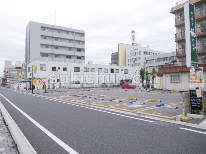 肉の寿司一緑水戸駅南店有料駐車場