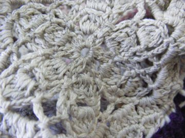 weathered crochet