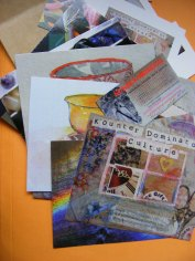 Postcard pack ready for mailing