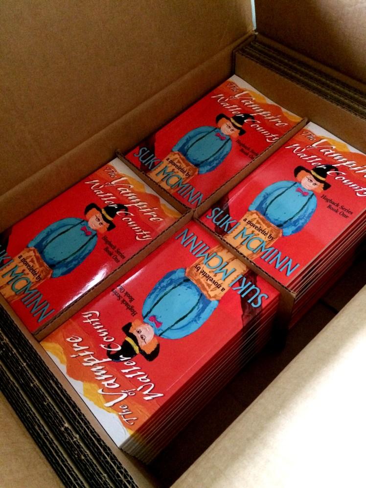 the vampire box of books