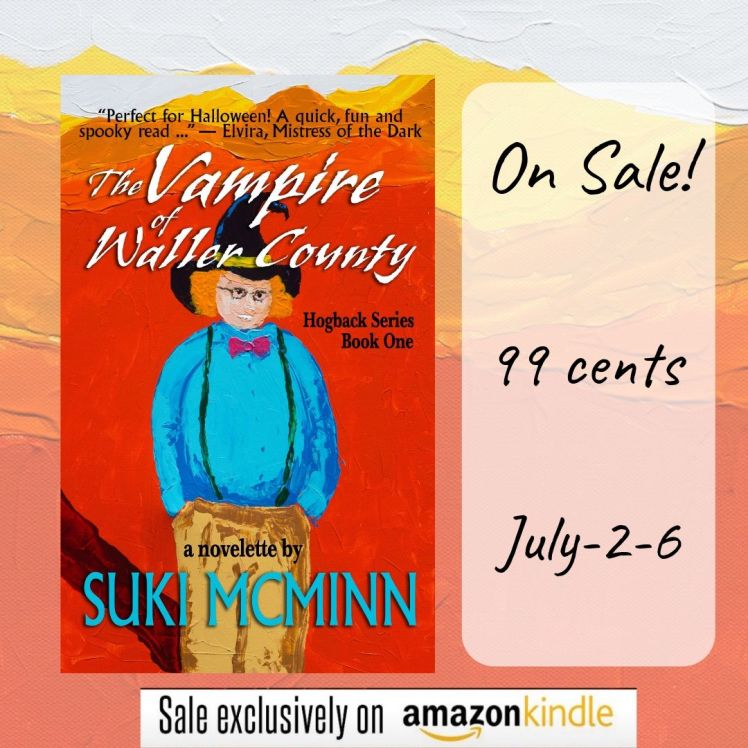 the vampire kindle sale poster july 2-6