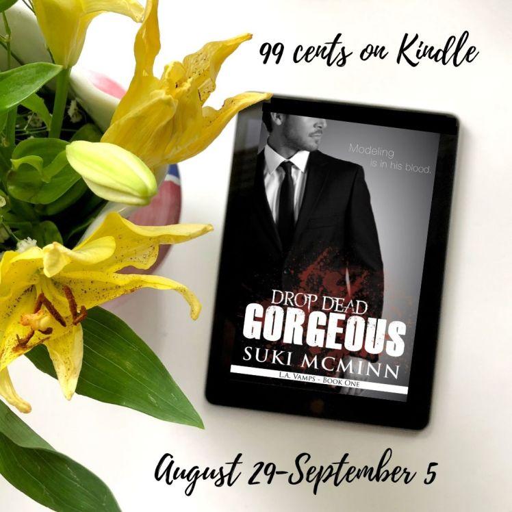 drop dead gorgeous 99 cents on Kindle.jpg Aug 29-sept 5