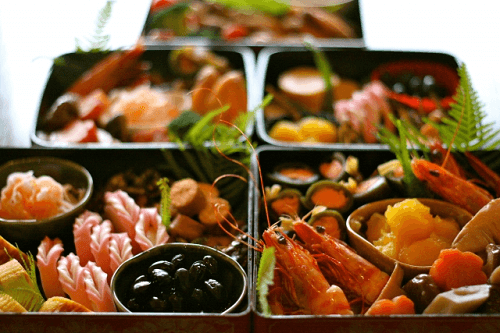 Osechi(Japanese New Year food)