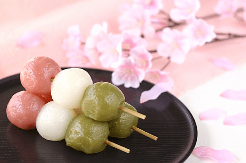 Three-color Dango