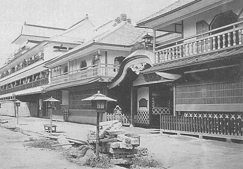 Yoshiwara in 1872