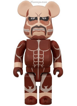 Bearbrick action figure attack on titan
