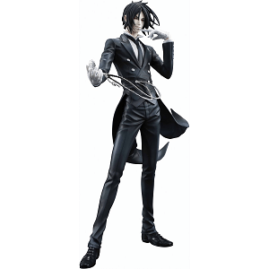 Black Butler Sebastian Action Figure with a rope
