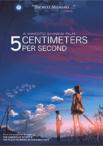 5 Centimeters Per Second DVD