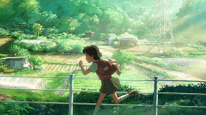 Children who chase lost voices Asuna run