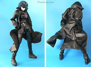 Ghost in the Shell Anime Figure Motoko Kusanagi with her coat